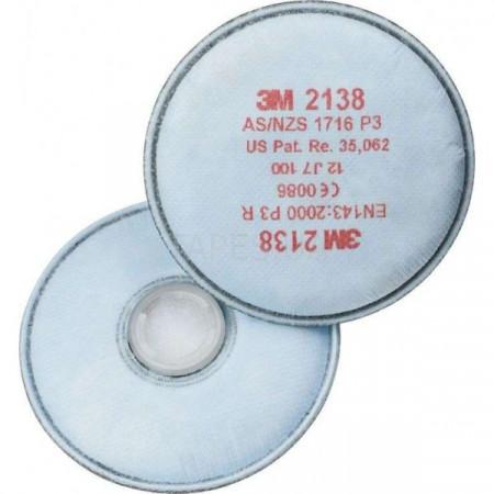 2138 Фільтр, P3R (+озон, кисл.газ, орг.пари)