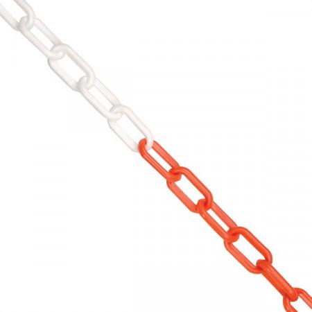 Chain Ланцюг  6 мм, 25 м, червоно-білий