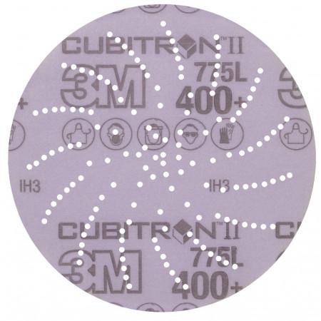 05059 Шліфувальні диски 3M™Cubitron™ II Hookit™ серії 775L,діам. 150мм, P400,з отворами