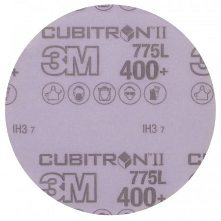 05058 Шліфувальні диски 3M™Cubitron™ II Hookit™ серії 775L,діам. 125мм, P400,без отв.