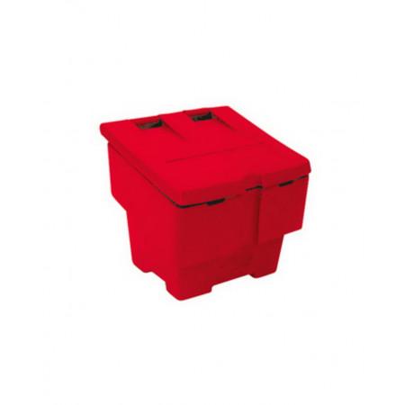Grit Salt Bin Контейнер для зберігання солі, 50 кг, червоний