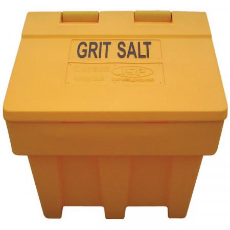 Grit Salt Bin Контейнер для зберігання солі, 50 кг, жовтий