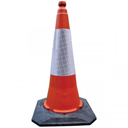 Navigator®  Конус з світловідбиваючою стрічкою, 75 см, червоний
