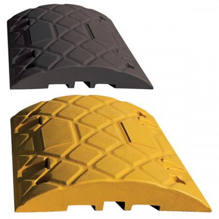 Ridgeback™ Штучна нерівність, середній елемент, висота 5 см, довжина 50 см, чорно-жовта