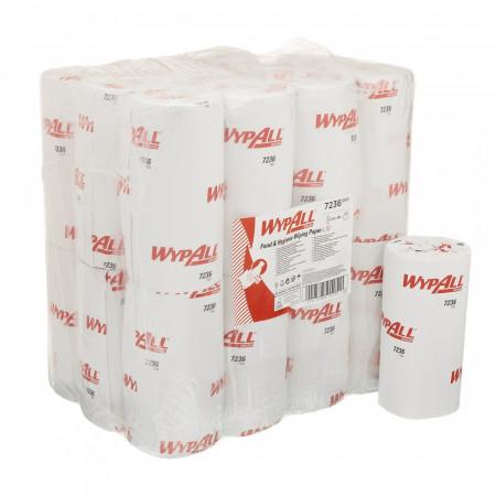 7236 Протиральний матеріал Wypall® L10, білий, 1 шар, 165 відривів