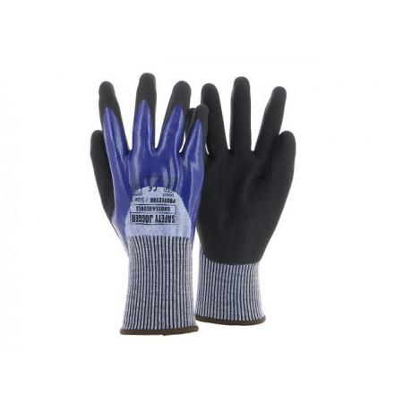 Protector Рукавички з нітриловим покриттям 3/4 5 рівень захисту від порізів