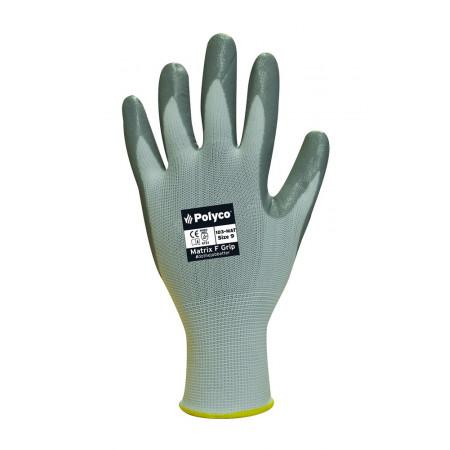 104-MAT Рукавички з нітриловим покриттям 1/2 Matrix F Grip р.10