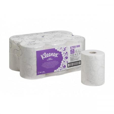 6781 Рушники в рулонах Kleenex® Ultra Slimroll, білі, 100 м., 2 шара