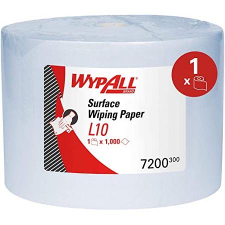 7200 Протиральний матеріал Wypall® L10 Extra+, синій, 1 шар, 1000 відривів
