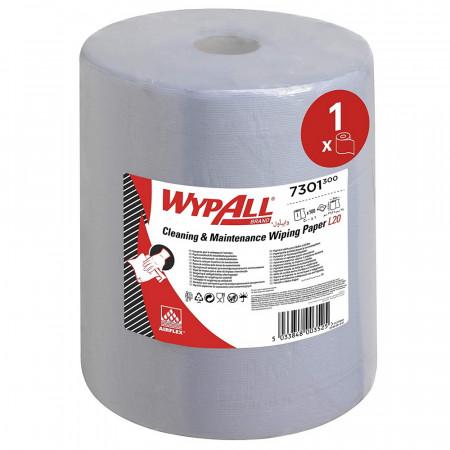 7301 Протиральний матеріал Wypall® L20 Extra+, синій, 2 шара, 500 відривів