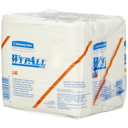7471 Протиральний матеріал Wypall® L40, білий, 1 шар, 56 відривів, пачка