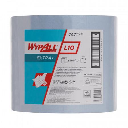 7472 Протиральний матеріал Wypall® L10 Extra+, синій, 1 шар, 1000 відривів