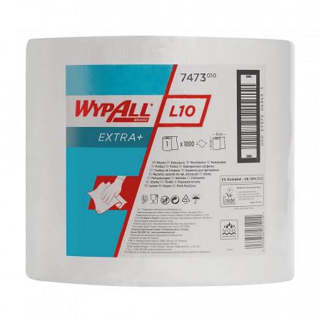 7473 Протиральний матеріал Wypall® L10 Extra+, білий, 1 шар, 1000 відривів