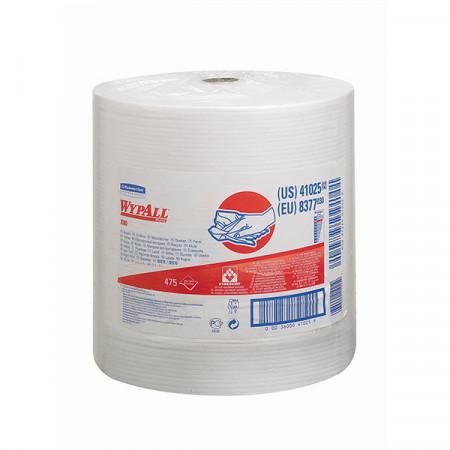 8377 Протиральний матеріал Wypall® X80, білий, 475 відривів