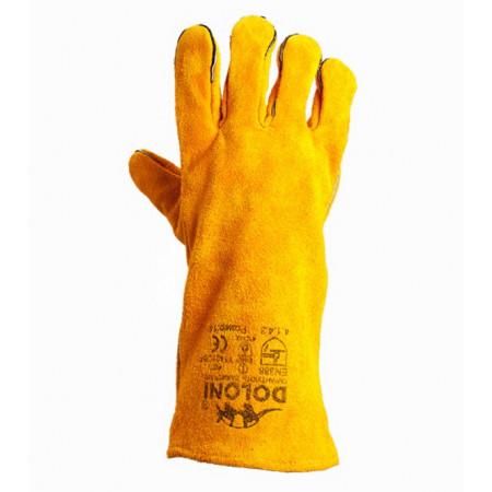 4507 Рукавички краги для зварювання жовті