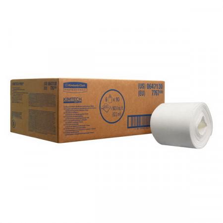 7767 Протиральний матеріал Kimtech®, 6 рулонів по 90 відривів