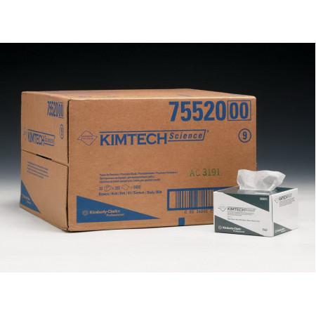 7552 Протиральний матеріал для оптики Kimtech® Science, 280 серветок, пачка