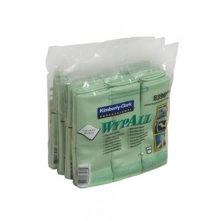 8396 Мікрофібра Wypall®, зелена, серветка