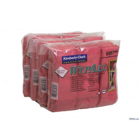 8397 Мікрофібра Wypall®, червона, серветка