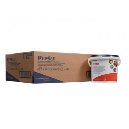 7775 Чистячі вологі серветки WypAll® Hand Cleaning Wipes, 90 арк., туба