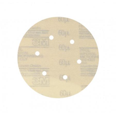 00136 Шліфувальні диски 3M™ Hookit™ серії 266L, діам. 150 мм, 6 отв., 60 mic