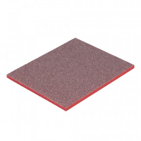03802(63200) Шліфувальна губка чотиристороння, 3M™ 96x66x25 мм MEDIUM (Р100–Р120)