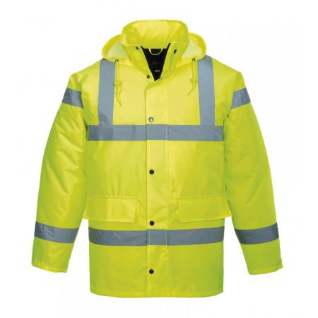 S461 Куртка сигнальна утеплена