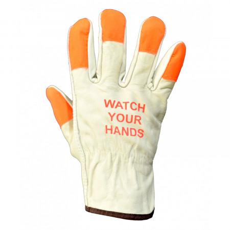 8216WYH Рукавички шкіряні Watch your hands